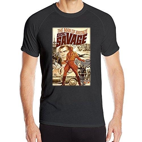 mens-doc-savage-the-rock-american-pulp-magazines-poster-sport-dri-fit-tshirt
