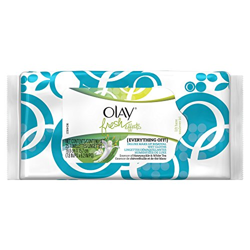 Fresh Effects Everything Off Deluxe Make-Up Removal Wet Cloths 25 Cloths Per Pack front-455964