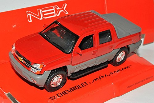 chevrolet-chevy-avalanche-2002-pick-up-rot-ca-1-43-1-36-1-46-welly-modell-auto-mit-individiuellem-wu