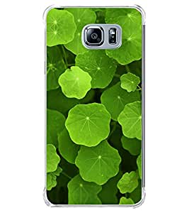 Green Leaves 2D Hard Polycarbonate Designer Back Case Cover for Samsung Galaxy Note5 :: Samsung Galaxy Note5 N920G :: Samsung Galaxy Note5 N920T N920A N920I