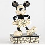 enesco 4023571 mickey und minnie maus erstes date schwarz weiss. Black Bedroom Furniture Sets. Home Design Ideas