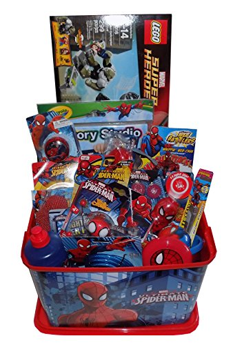 Ginormous Spiderman Gift Basket - Perfect for Easter, Birthdays, Christmas, Get Well, or Other Occasion!