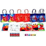Sesame Street Elmo Party Favor Set - 6 Packs (42 Pcs)
