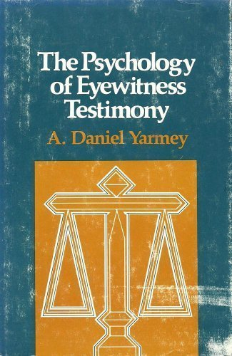 psychology eye wittness testimony Psychology definition of eyewitness testimony: is testable evidence which is typically given under oath in a court of law by an individual who will offer their recollection of a specific event or timeli.