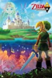 GB eye Nintendo Zelda A Link Between Maxi Poster, Multi-Colour