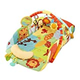 Bright Starts Baby's Play Place Playmat, Swingin' Safari by Bright Starts
