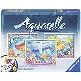 Ravensburger 29478 - Meereswelt - Aquarelle Maxi, 30 x 24 cm
