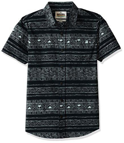 rip-curl-big-boys-cabana-boys-short-sleeve-shirt-black-black-large