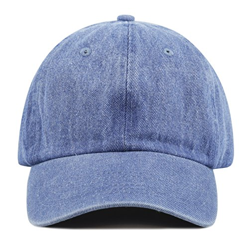 d5e965c8f5b The Hat Depot 300N Washed Low Profile Cotton and Denim - Import It All