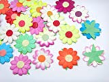 Card making mulberry Paper flowers for Scrapbooking wedding multi color 25 pcs No Mul 003