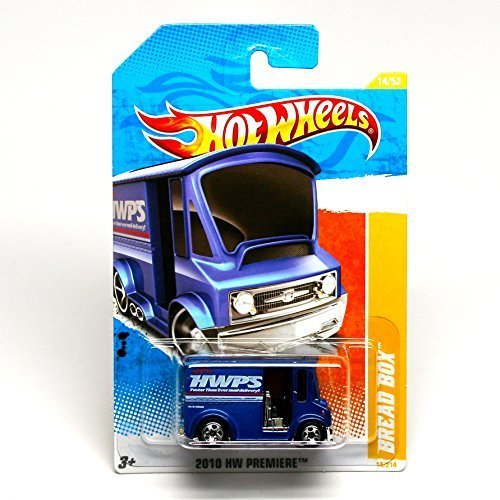 Hot Wheels 2010 14/214 2010 HW Premiere 14/52 Bread Box (Blue)