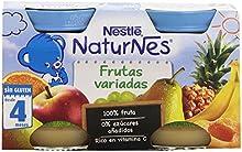 Nestlé Naturnes Frutas Variadas A Partir De 4 Meses - Pack de 2 x 130 g - Total: 260 g