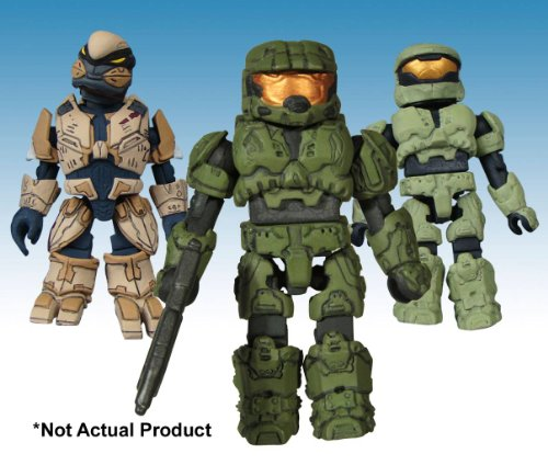 Picture of Diamond Select Halo Minimates Army Builder Dump 12 Figures (B003ZS86PA) (Halo Action Figures)