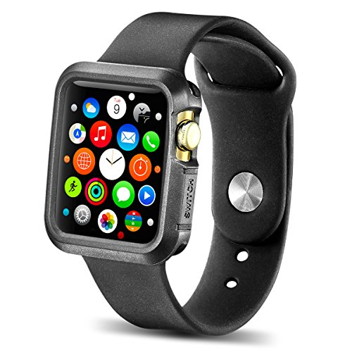 Apple Watch Case, New Trent TPU Cases for Apple Watch / Watch Sport / Watch Edition 2015 Release 42 mm