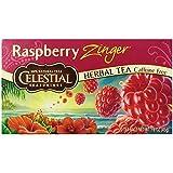Celestial Seasonings Raspberry Zinger Tea, 20 Count (Pack of 6)