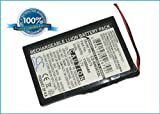 Battery for Blaupunkt TravelPilot Lucca 3.3, 3.7V, 1100mAh, Li-ion