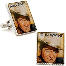 John Wayne Stamp Cufflinks Cuff Links