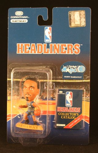 PENNY HARDAWAY / ORLANDO MAGIC * 3 INCH * 1996 NBA Headliners Basketball Collector Figure