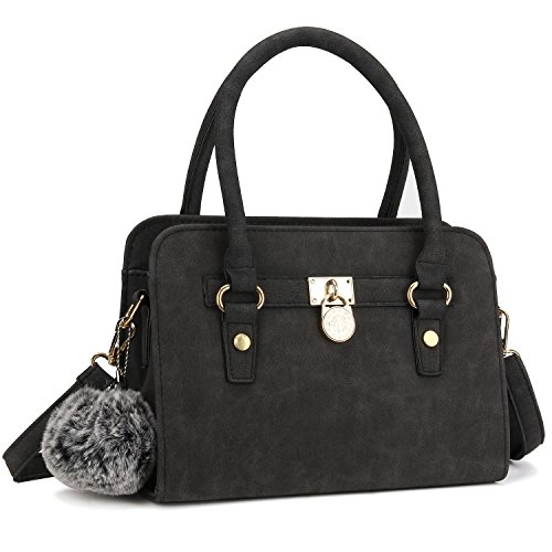 Bagerly-Women-Fashion-PU-Leather-Shoulder-Bags-Top-Handle-Handbag-Tote-Bag-Purse-Crossbody-Bag