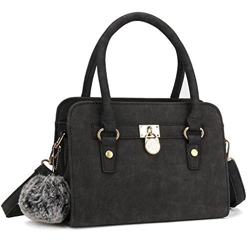 Bagerly-Women-Fashion-PU-Leather-Shoulder-Bags-Top-Handle-Handbag-Tote-Bag-Purse-Crossbody-Bag