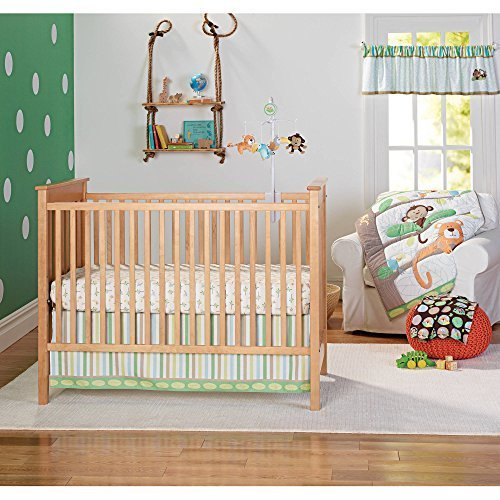 Garanimals-Tropical-Tree-Top-3-Piece-Bedding-Nursery-Set