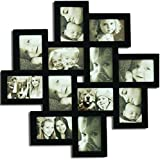 Adeco 12 Openings Picture Collage Frame Six 4x6 Inch Six 6x4 Inch Photos
