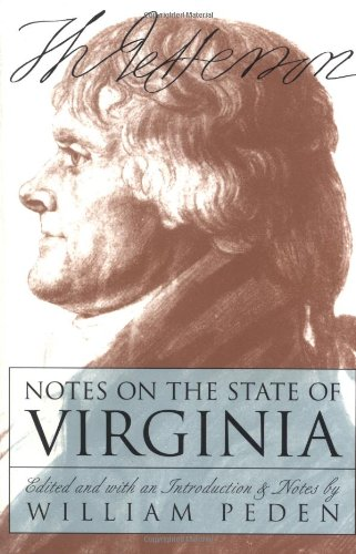 Notes on the State of Virginia (Published for the...