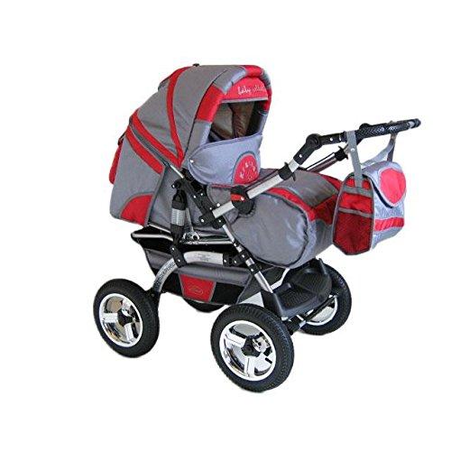 preisvergleich und test kinderwagen kombikinderwagen buggy hartgummmir der szymek lux bc02. Black Bedroom Furniture Sets. Home Design Ideas