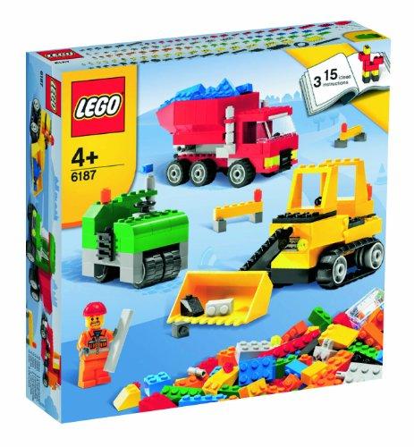 LEGO Creative Building 6187 LEGO Road Construction Set