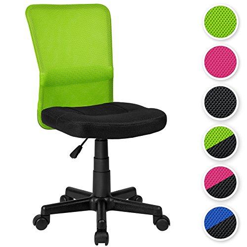 TecTake-Brostuhl-Drehstuhl-Schreibtischstuhl-diverse-Farben-Schwarz-Grn-Nr-401796