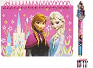 Disney Frozen Elsa and Anna Pink Spir…