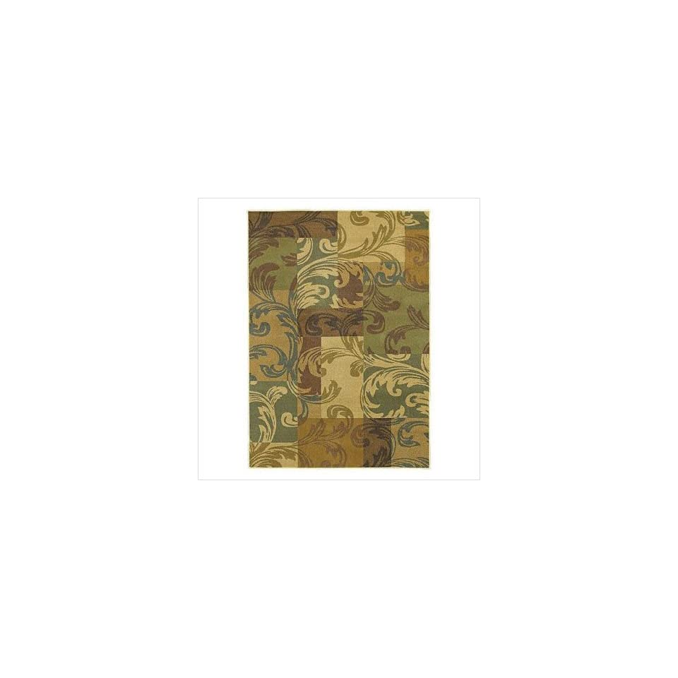 Shaw Rugs 3V50 04110 Transitions Giselle Light Multi Contemporary Rug