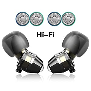 ActionPie VJJB-V1S High Resolution Heavy Bass In-ear Headphones with Mic for SmartPhones