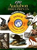 120 Audubon Bird Prints (Dover Electronic Clip Art) (CD-ROM and Book) (0486998541) by John James Audubon