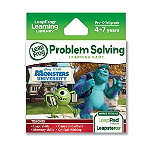 LeapFrog Disney Pixar Monsters University Learning Game (works with LeapPad Tablets, LeapsterGS, and Leapster Explorer) from LeapFrog