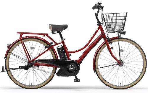 YAMAHA(ヤマハ) PAS Ami 26インチ 電動自転車 2014年モデル [8.7Ahバッテリー、内装3段変速、オートライト機能、急速充電器付き] リッチレッド PM26A
