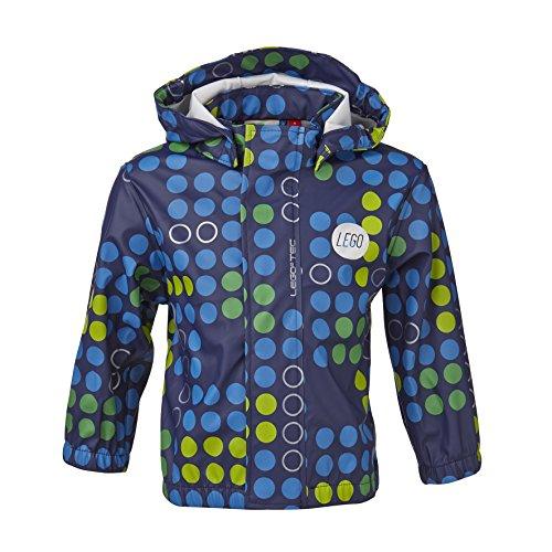 LEGO Wear Baby - Jungen Jacke JOSH 207 - RAIN JACKET Regenjacke Blau (588 MIDNIGHT BLUE) 74