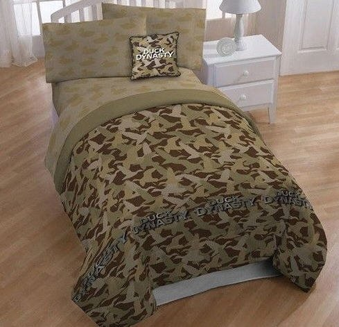 Full Size Camo Bedding 3472 front