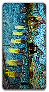 The Racoon Lean Starry Night Over Ahmedabad hard plastic printed back case / cover for Sony Xperia ZR
