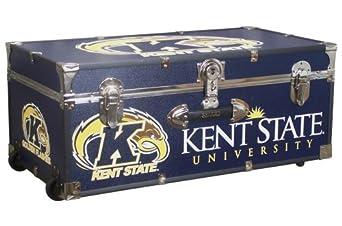 Mercury Seward Trunk Kent State University 30-Inch Wheeled Foot Locker by Mercury