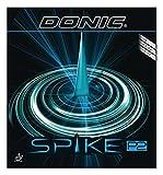 DONIC(ドニック) 卓球 スパイク P2 (塩野真人選手との共同開発商品)粒高ラバー ブラック OX AL074