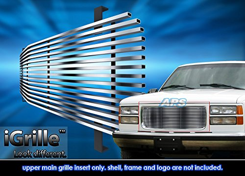 Fits 1994-1999 GMC Sierra/C/K Pickup/Suburban Stainless Steel Billet Grille Grill #G85012C (1994 Gmc Sierra Grille compare prices)