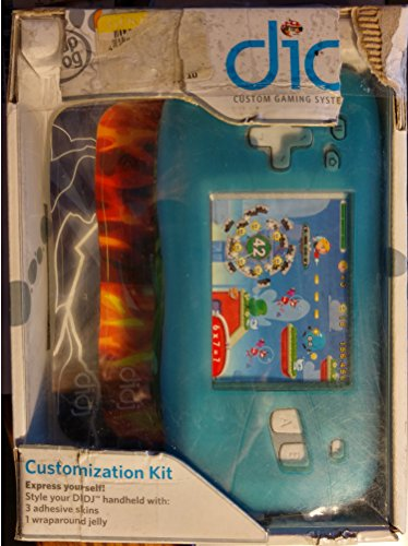 LEAPFROG ENTERPRISES DIDJ CUSTOMIZATION KIT BLUE AGE 6+ (Set of 3) - 1