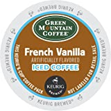 Keurig, Green Mountain Coffee, French Vanilla Iced Coffee, K-Cup packs, 72 Count