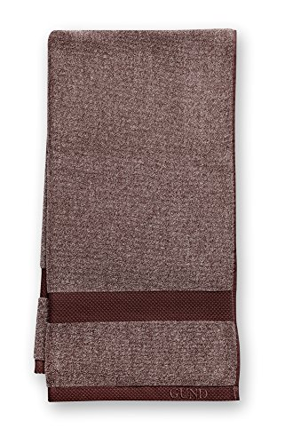 GUND Melange Bath Towel, Beary Brown, 24'' By 48'' - 1