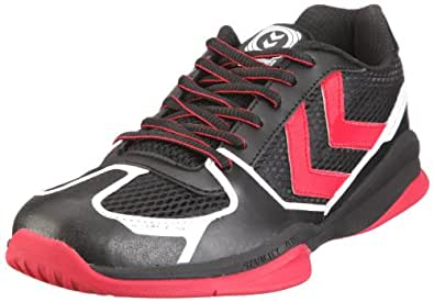 Hummel AUTHENTIC X 60-037-2143, Chaussures de sports en salle mixte adulte Noir-TR-SW153 46.5