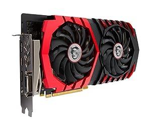 MSI Computer GeForce GTX 1060 VR Ready GDDR5 Graphics Card (GeForce GTX 1060 GAMING X 6G)