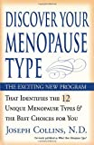 Discover Your Menopause Type (076153749X) by Collins, Joseph