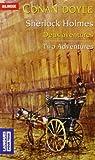 echange, troc Arthur Conan Doyle - Deux aventures of Sherlock Holmes : La bande mouchetée ; Les trois étudiants, Edition bilingue français-anglais
