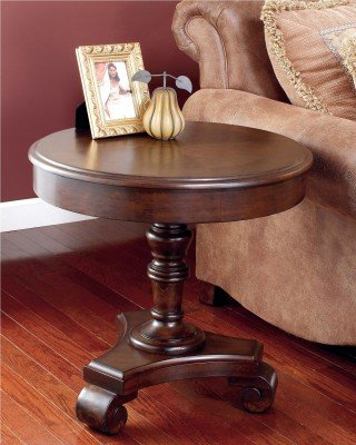 Cheap Signature Design by Ashley Brookfield Round End Table (T496-6)